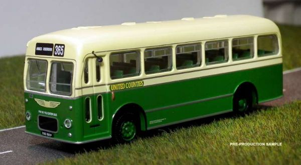 B T Models B206B  Bristol MW Bus Coach  United Counties route 365 Princes Risborough